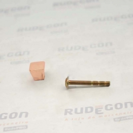 PUXADOR MINI 10mm ROSE PUXE CHIC