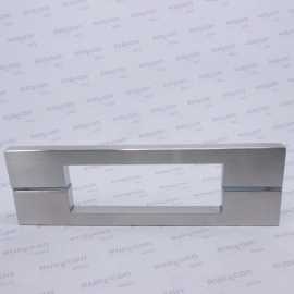 PUXADOR BIG THIN DUPLO 332 X 300mm INOX ESCOVADO