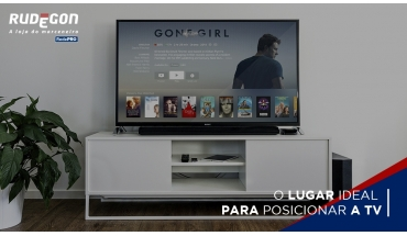 O lugar ideal para posicionar a TV